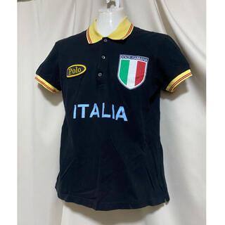 ドルチェアンドガッバーナ(DOLCE&GABBANA)のDOLCE&GABBANA ブランドロゴワッペン ポロシャツ(ポロシャツ)