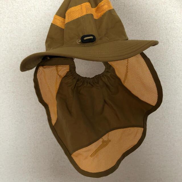 THE NORTH FACE(ザノースフェイス)のセール!新品タグ付き!限定!ノースフェイス サンシールドハット 帽子⭐️2way キッズ/ベビー/マタニティのこども用ファッション小物(帽子)の商品写真