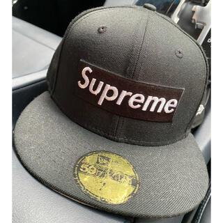 Supreme - Supreme  NEWERACAP   7 3/8   58.7㌢ BLACK
