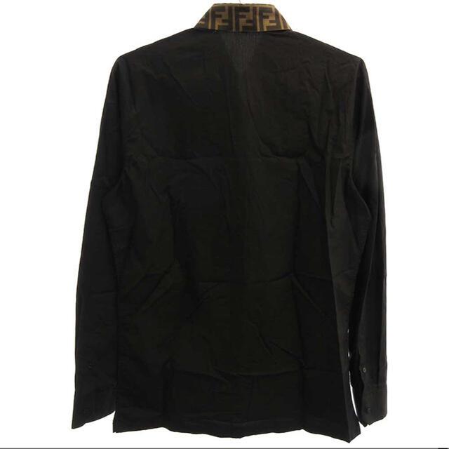 FENDI(フェンディ)のFENDI 襟ズッカ柄コットンシャツ メンズのトップス(シャツ)の商品写真