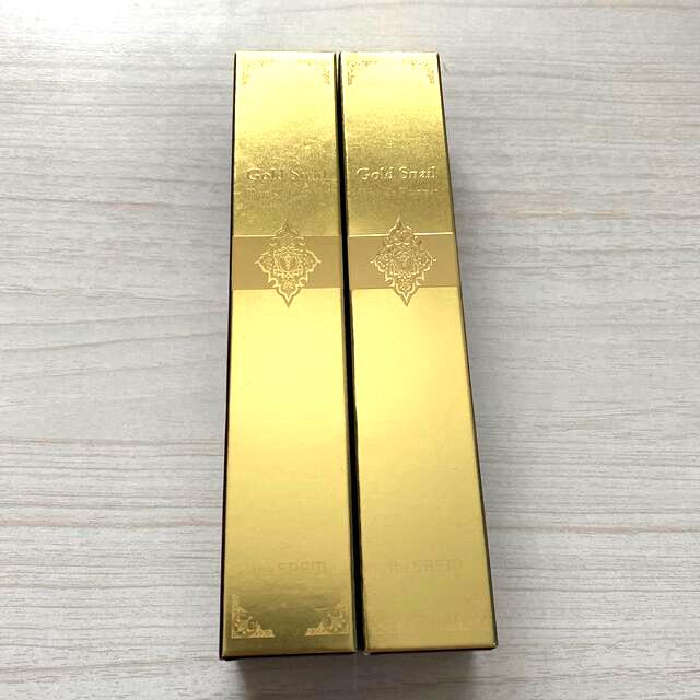 the saem(ザセム)のthe saem GOLD SNAIL 美容液 2本セット コスメ/美容のスキンケア/基礎化粧品(美容液)の商品写真