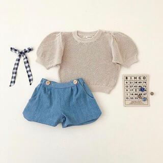 キャラメルベビー&チャイルド(Caramel baby&child )の【新品】soor ploom mini knit 4-5y(ニット)