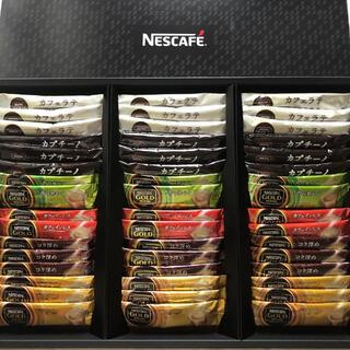 ネスレ(Nestle)のネスカフェゴールドブレンドプレミアムスティックコーヒーギフトセット(コーヒー)