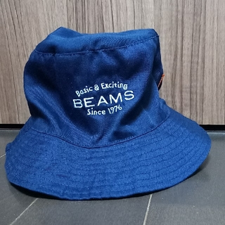 BEAMS(ビームス)特製ロゴ刺繍入りバケットハット