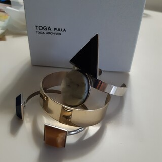 【美品】toga pulla トーガプルラ バングル三点セット