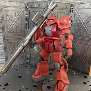 バンダイ(BANDAI)の無駄に武器がカッコいい「シャア専用ザクII(オリジン版)」(模型/プラモデル)