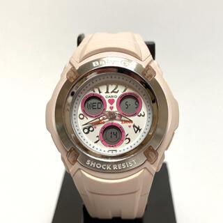 ベビージー(Baby-G)のBaby-G × misdo × Licca アナデジ ピンク(腕時計)