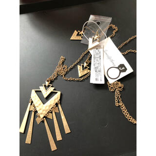フリーズマート(FREE'S MART)の未使用タグ付 フリーズマート ネックレス&ピアス(ネックレス)