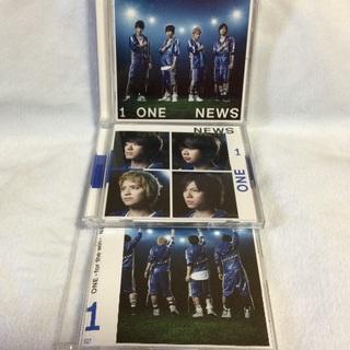 NEWS ONE シングルセット 初回盤 通常盤 ワン 1 CD DVD(ポップス/ロック(邦楽))