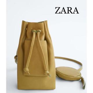 ザラ(ZARA)のZARA リアルレザーポシェット BAG(ショルダーバッグ)