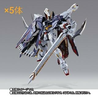 バンダイ(BANDAI)の新品 METAL BUILD クロスボーン・ガンダムX1 フルクロス 5体(模型/プラモデル)