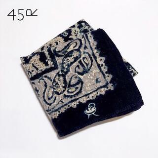 45rpm - 45rpm✨フォーティーファイブ ペイズリー柄 バンダナ スカーフ