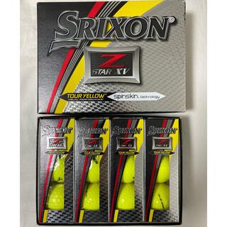 Srixon - スリクソン Z-STAR XV SRIXON 1ダース イエロー  未使用新品