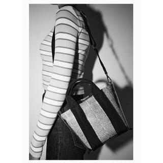 ザラ(ZARA)のZARA ビニール×雑材bag(ショルダーバッグ)