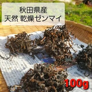 山菜 ぜんまい 無農薬 天然 ゼンマイ 大容量 新鮮 新芽 日干し 限定 新物(野菜)