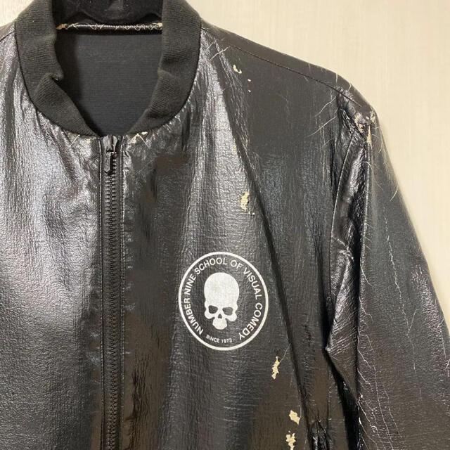 NUMBER (N)INE(ナンバーナイン)のnumber nine スカル サークル ジャケット アーカイブ 初期もの メンズのジャケット/アウター(ブルゾン)の商品写真