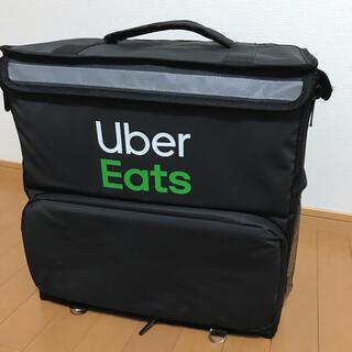 美品・送料込★公式UberEatsバッグ/ウーバーイーツリュック【一回だけ使用】(バッグ)