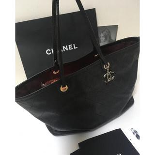 CHANEL - 超美品♡シャネル オンザロード ショルダーバッグ キャビアスキン 正規品