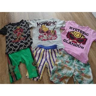 HYSTERIC MINI - ヒスミニ Tシャツ レギンス ズボン パンツ GUCCI 風 チャビーギャング