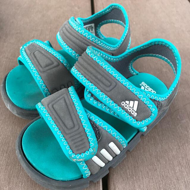 adidas(アディダス)のadidasサンダル13.0センチ キッズ/ベビー/マタニティのベビー靴/シューズ(~14cm)(サンダル)の商品写真