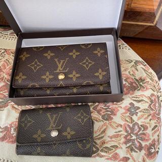 LOUIS VUITTON - 新品 ルイヴィトンのノベルティ折財布 おまけ付き