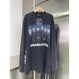 Balenciaga - BALENCIAGA●RAMMSTEIN BOXY 長袖Tシャツ