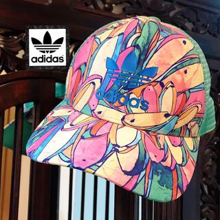 アディダス(adidas)のアディダス ファーム コラボ キャップ 帽子 ファーム コラボ 花柄 バナナ(キャップ)