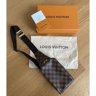 LOUIS VUITTON - ルイヴィトン ボディーバッグ ジェロニモス ダミエ