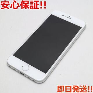 アイフォーン(iPhone)の超美品 SIMフリー iPhone8 64GB シルバー (スマートフォン本体)