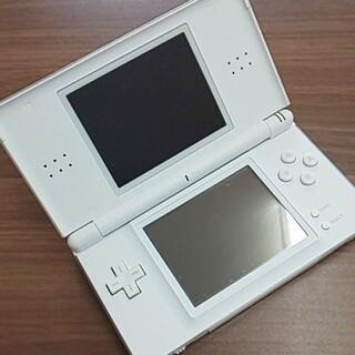 ニンテンドーDS(ニンテンドーDS)のニンテンドーDS liteクリスタルホワイト②(携帯用ゲーム機本体)