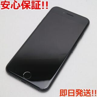 アイフォーン(iPhone)の超美品 SIMフリー iPhone7 128GB ブラック (スマートフォン本体)