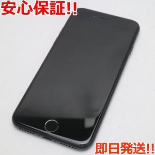 アイフォーン(iPhone)の超美品 SIMフリー iPhone SE 第2世代 64GB ブラック (スマートフォン本体)