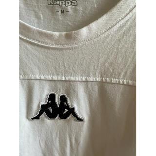 カッパ(Kappa)の白 ロンT ロゴ刺繍 kappa(Tシャツ/カットソー(七分/長袖))