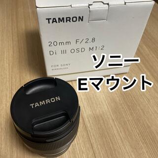 TAMRON - TAMRON 20mm F/2.8 Di III OSD SONY Eマウント