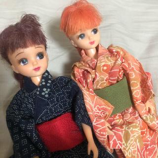Takara Tomy - 着物リカちゃん2体セット 和服 ドール ジェニー ハンドメイド ブライス 洋服
