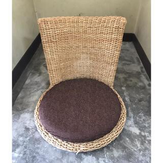 籐素材 座椅子(座椅子)