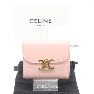 celine - ★送料無料★ 公式完売品 CELINE スモール トリオンフ ウォレット ピンク