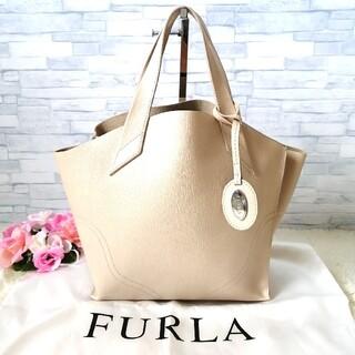 Furla - 正規品♡ 美品♡ フルラ FURLA トートバッグ ベージュ 394