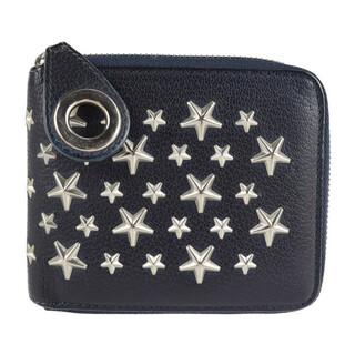 ジミーチュウ(JIMMY CHOO)のJIMMY CHOO ジミーチュウ 二つ折り財布 【本物保証】(財布)