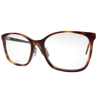 celine - セリーヌ眼鏡 メガネ(度あり) プラスチック ブラウン茶 40800072682