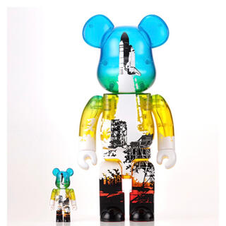 MEDICOM TOY - SPACE SHUTTLE  BE@RBRICK LAUNCH Ver.