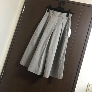 エフデ(ef-de)のタグ付☆エフデ☆スカートパンツ☆カーキ(カジュアルパンツ)