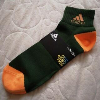 adidas - adidas メンズ靴下26-28cm メンズソックス スポーツソックス