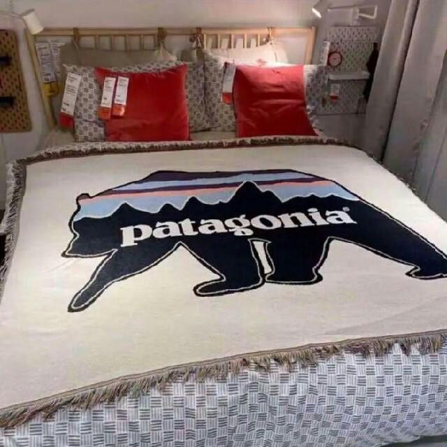 patagonia パタゴニア ラグマット 絨毯 ソファカバー アメリカ インテリア/住まい/日用品のソファ/ソファベッド(ソファカバー)の商品写真