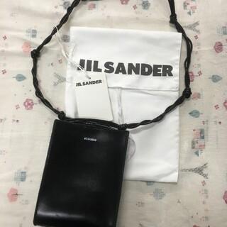 Jil Sander - 大人気JIL SANDER ショルダーバッグ ブラック