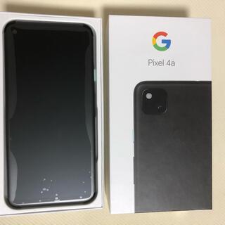 Google Pixel - 未使用! Google Pixel 4a  JustBlack 128 GB