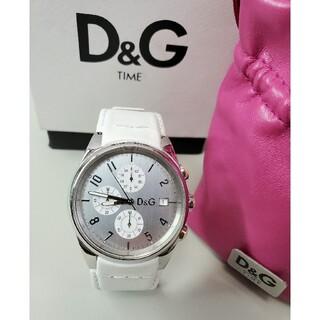 DOLCE&GABBANA - 中古品 ドルガバ 「サンドパイパー」 クロノグラフ メンズ腕時計 D&G