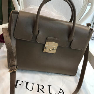 Furla - ☆超美品☆フルラ メトロポリス ショルダーバッグ トートバッグ