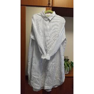 RyuRyu - 大きいサイズ   ロングシャツ(3L)