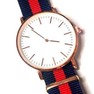 新品 カジュアルウォッチ 腕時計 男性女性兼用 NATOベルト 超軽量 ①